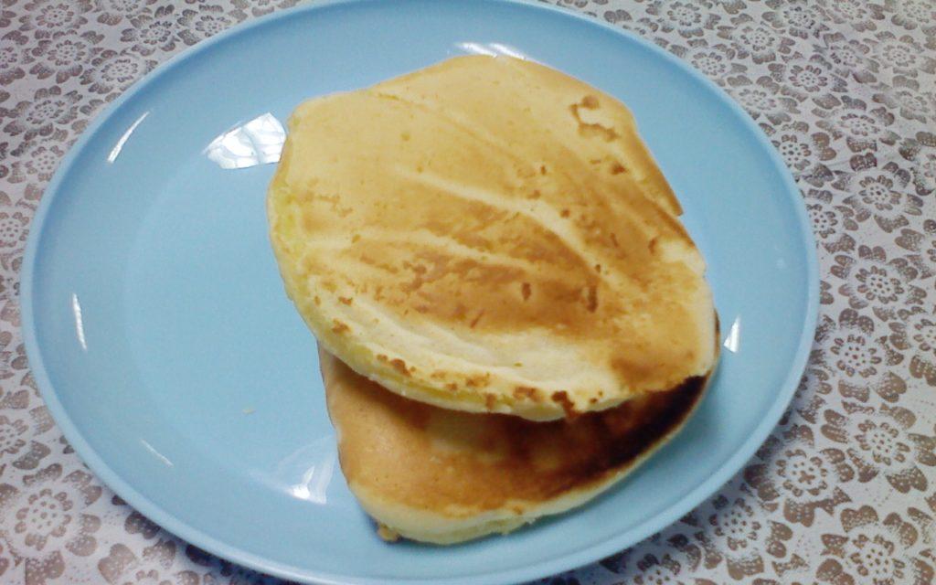 大きめのパンケーキサンド!