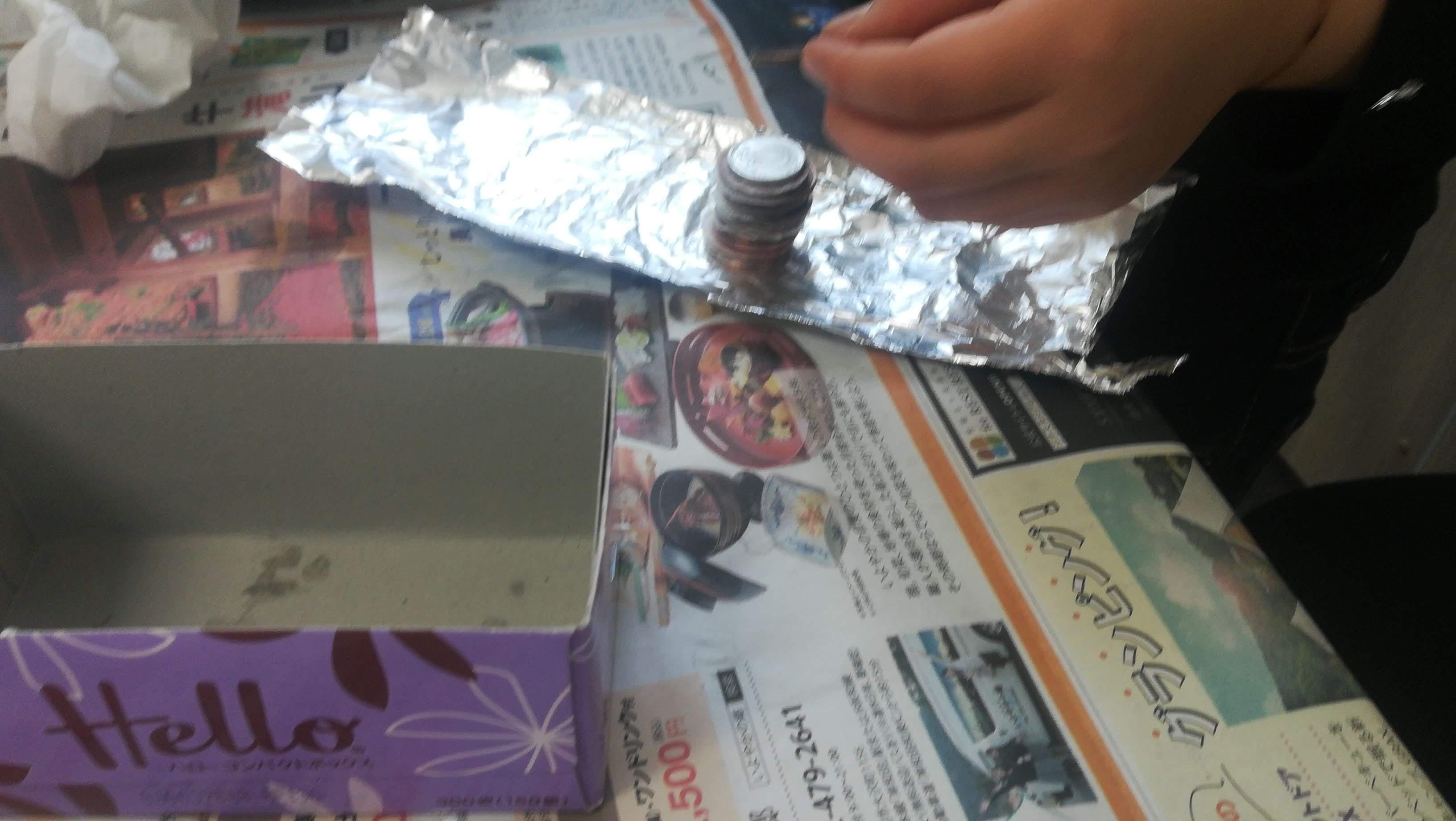 科学実験教室(電池実験)1